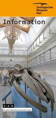 Museums-Flyer englisch